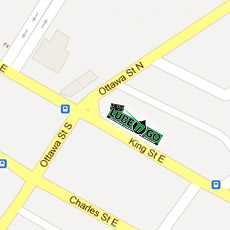 Lube N Go King Street map